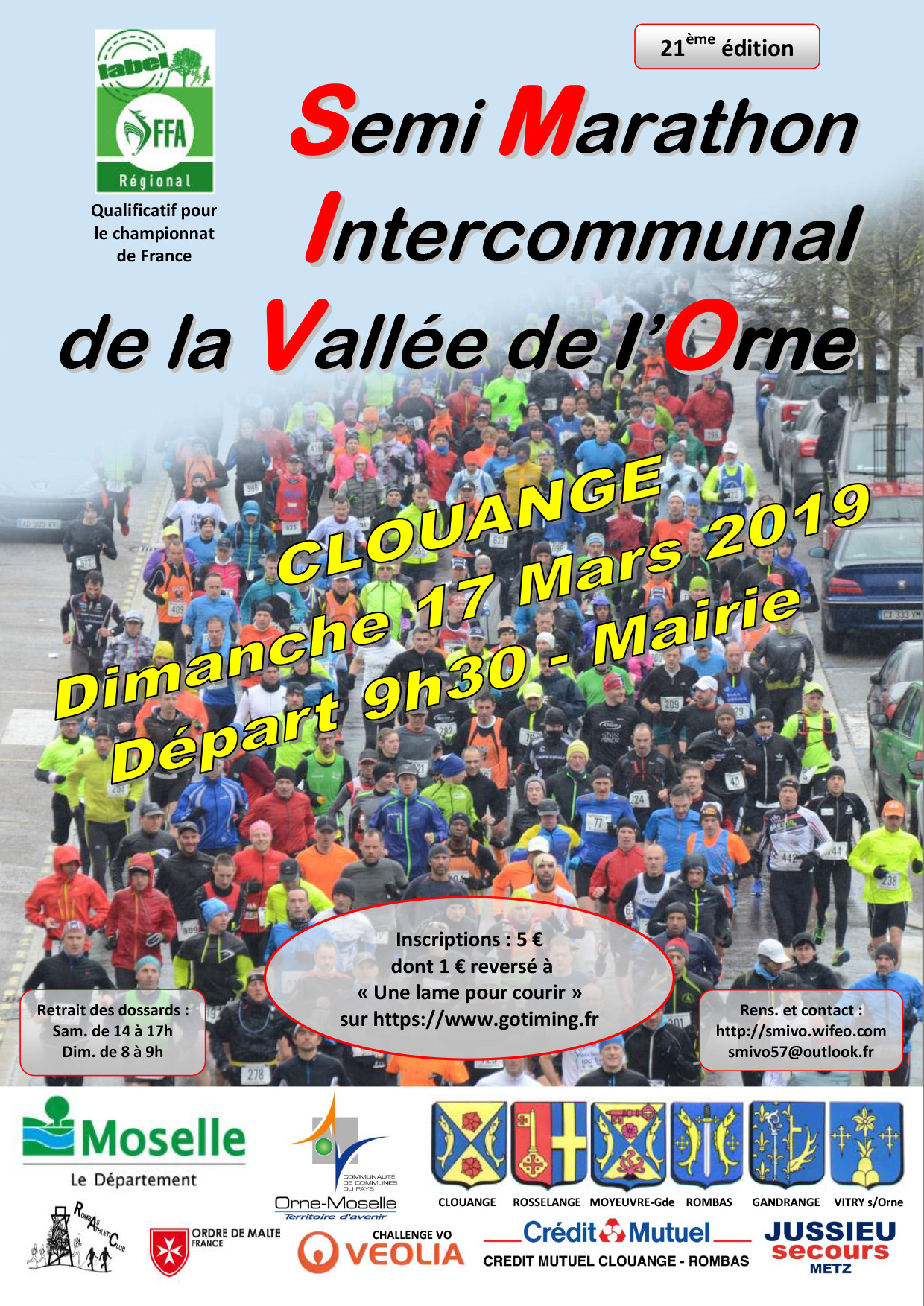 Semi Marathon Intercommunal de la Vallée de l'Orne
