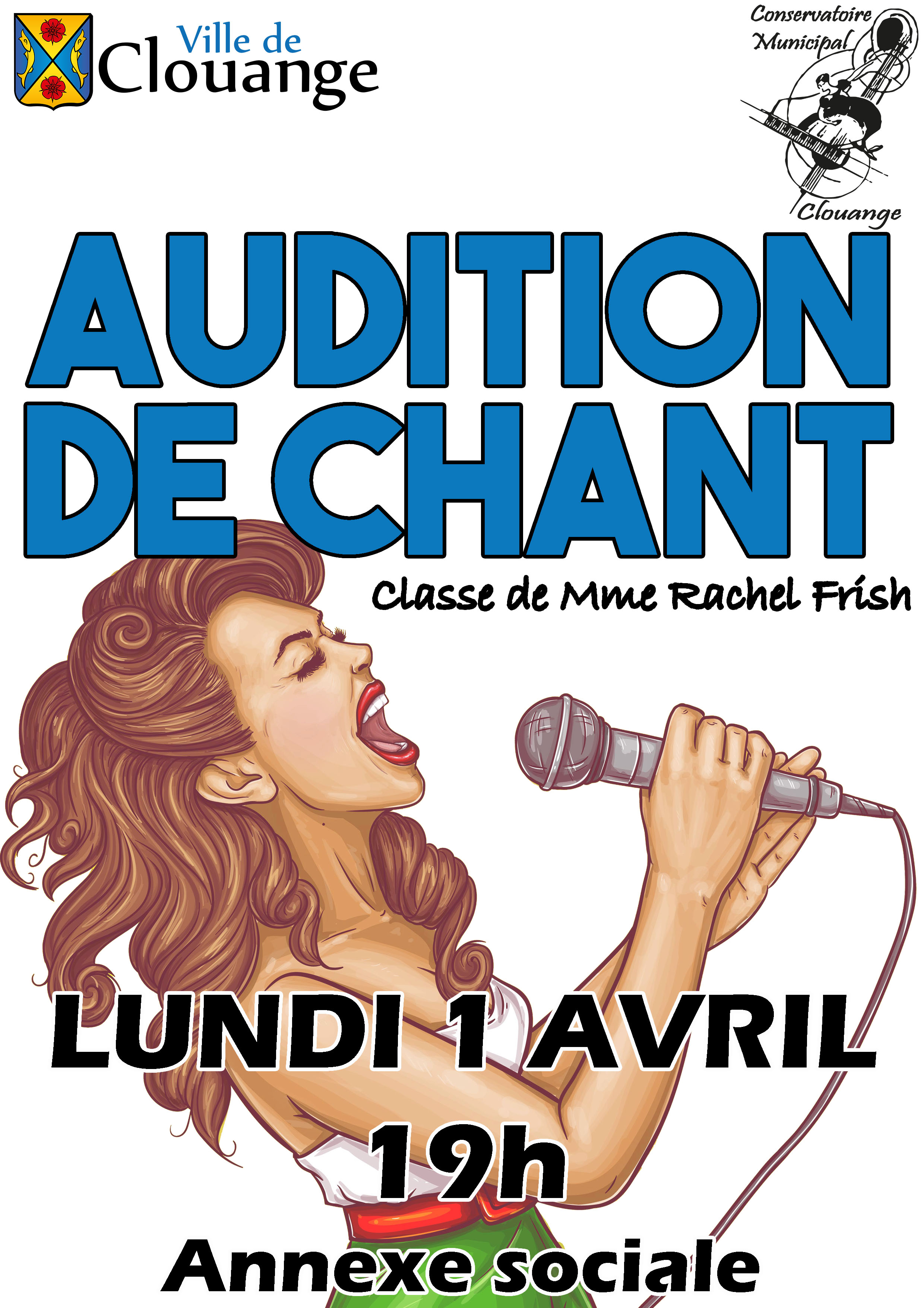 Audition de Chant