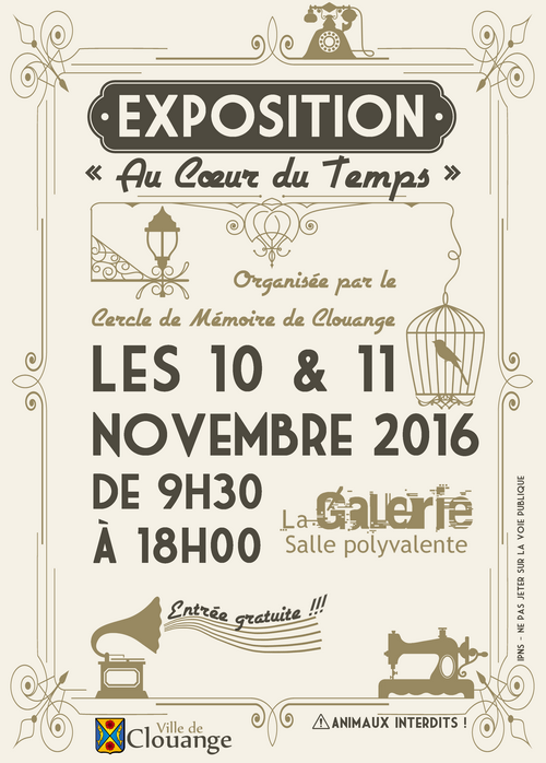Exposition d'objets